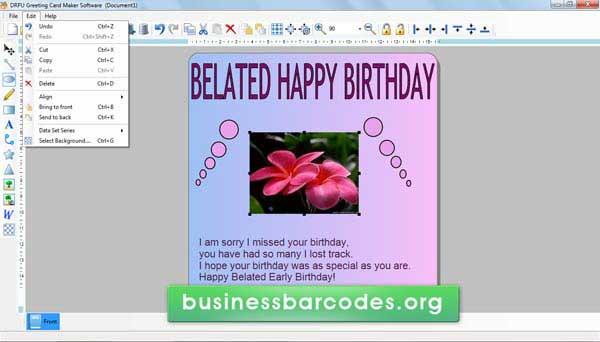 Greeting Card Designing Software